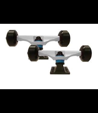LiteZpeed Skateboard Component Kit White
