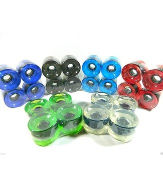 LiteZpeed Translucent Longboard Wheels 76mm