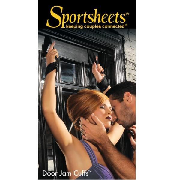 Sportsheets International Sportsheets Door Jam Cuffs - Black