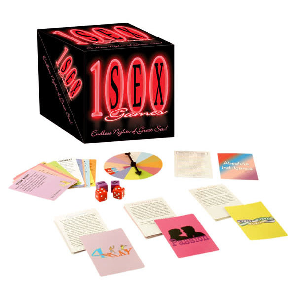 Kheper Games 1000 SEX GAMES(out Aug)