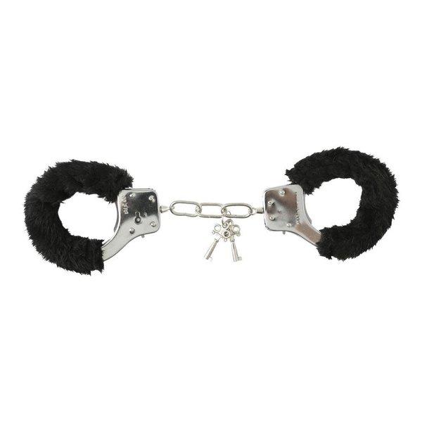 Sportsheets International Sex & Mischief Ouch Furry Handcuffs
