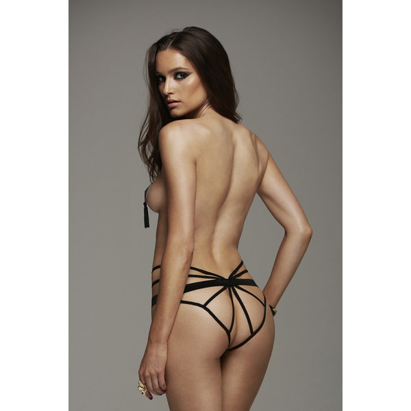 Golyta Hauty Strappy Crotchless Butterfly Cage Cheeky