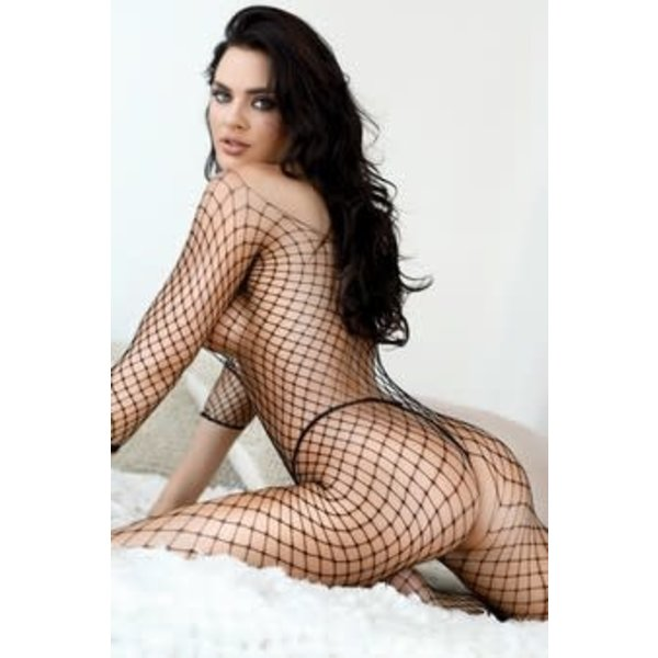 Killer Legs Open Gauge Fishnet Bodystocking