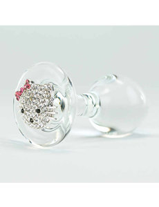 Crystal Delights Hello Kitty Plug Clear