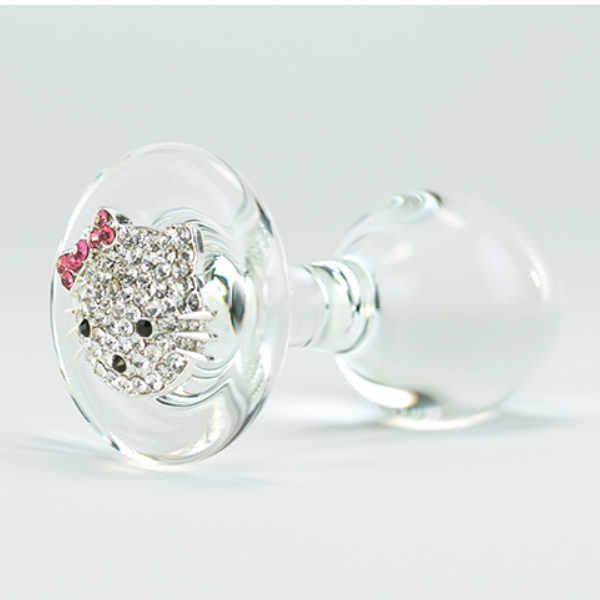 Crystal Delights Hello Kitty Plug Clear