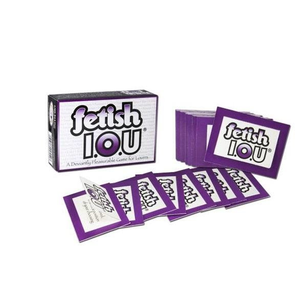 Fetish IOU Coupons