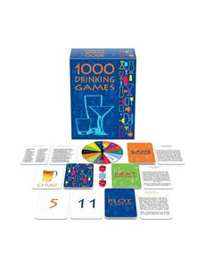 1000 DRINKING GAMES(out Oct)