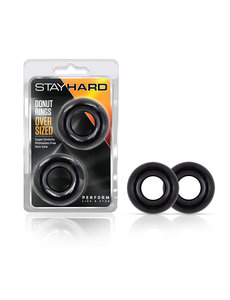 Blush Novelties Stay Hard Donut Rings 2/3 Pack