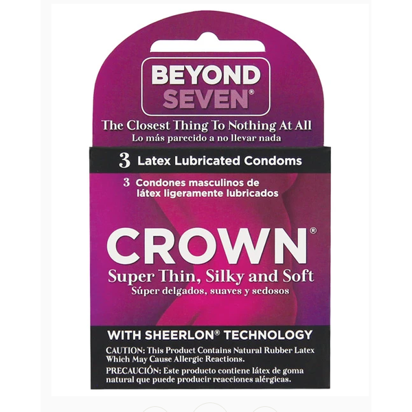 Paradise Marketing Crown Condoms