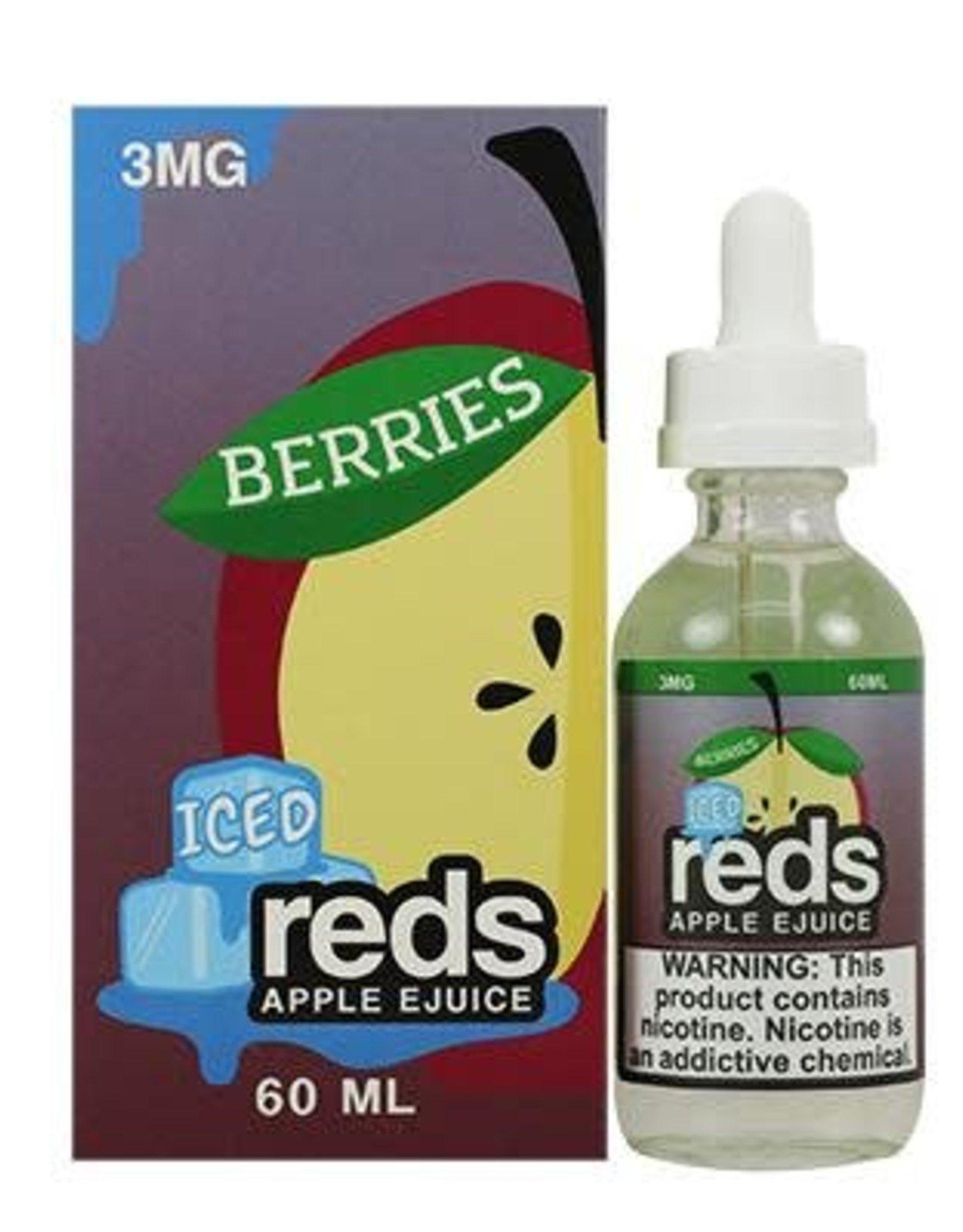 7 Daze - Reds Apple *Berries* Iced EJuice (60mL)