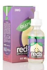 7 Daze - Reds Apple *Grape* EJuice (60mL)