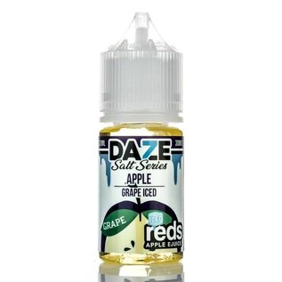 7 Daze 7 Daze - Salt Series Apple *Grape* Iced (30mL)