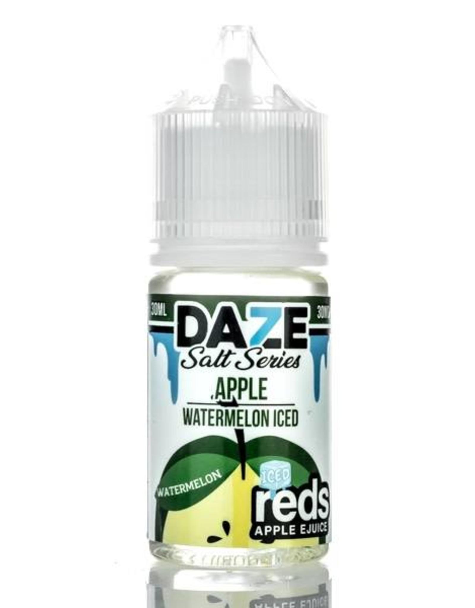 7 Daze 7 Daze - Salt Series Apple *Watermelon* Iced (30mL)