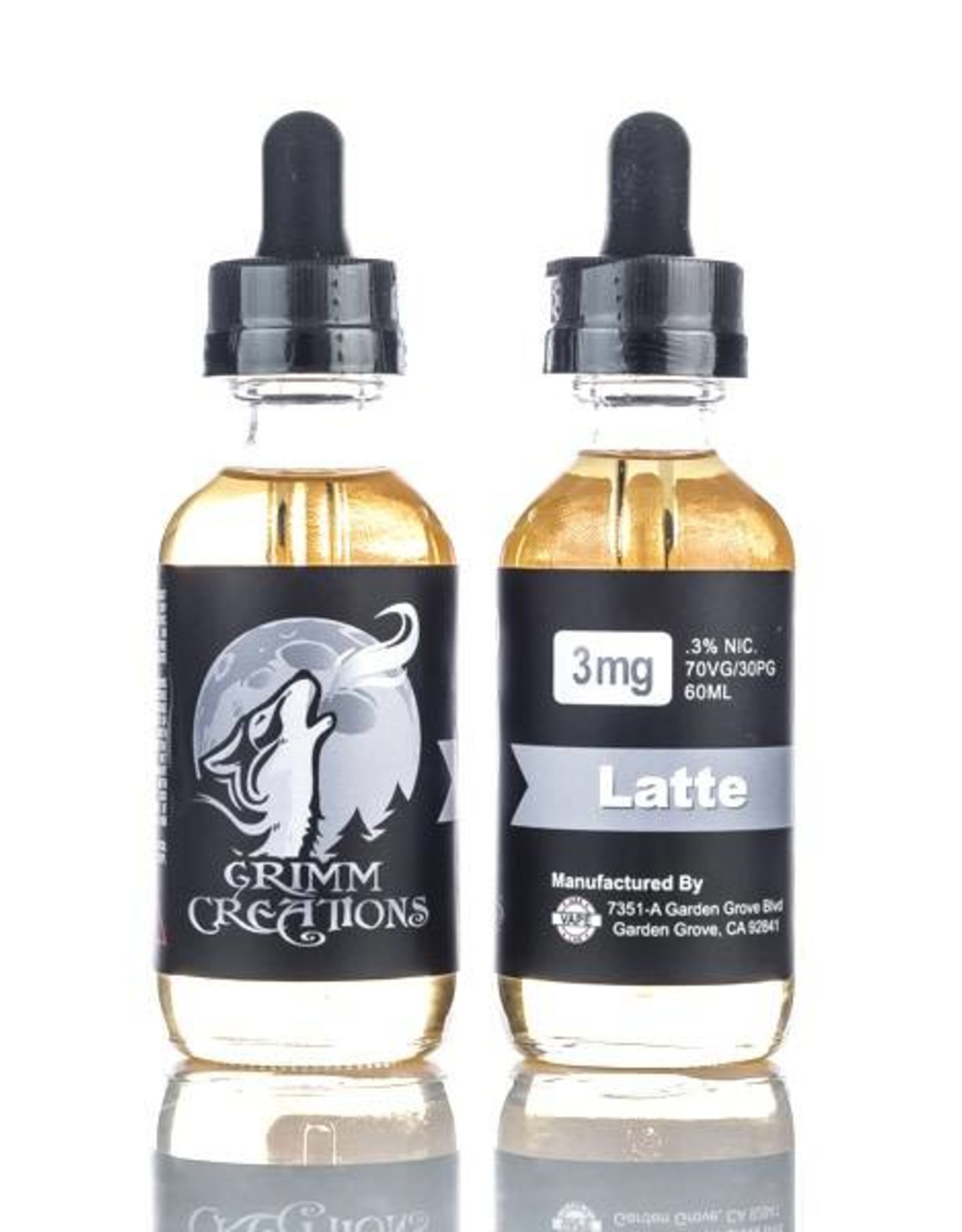 GRIMM CREATIONS LATTE BY GRIMM CREATIONS(60ml)