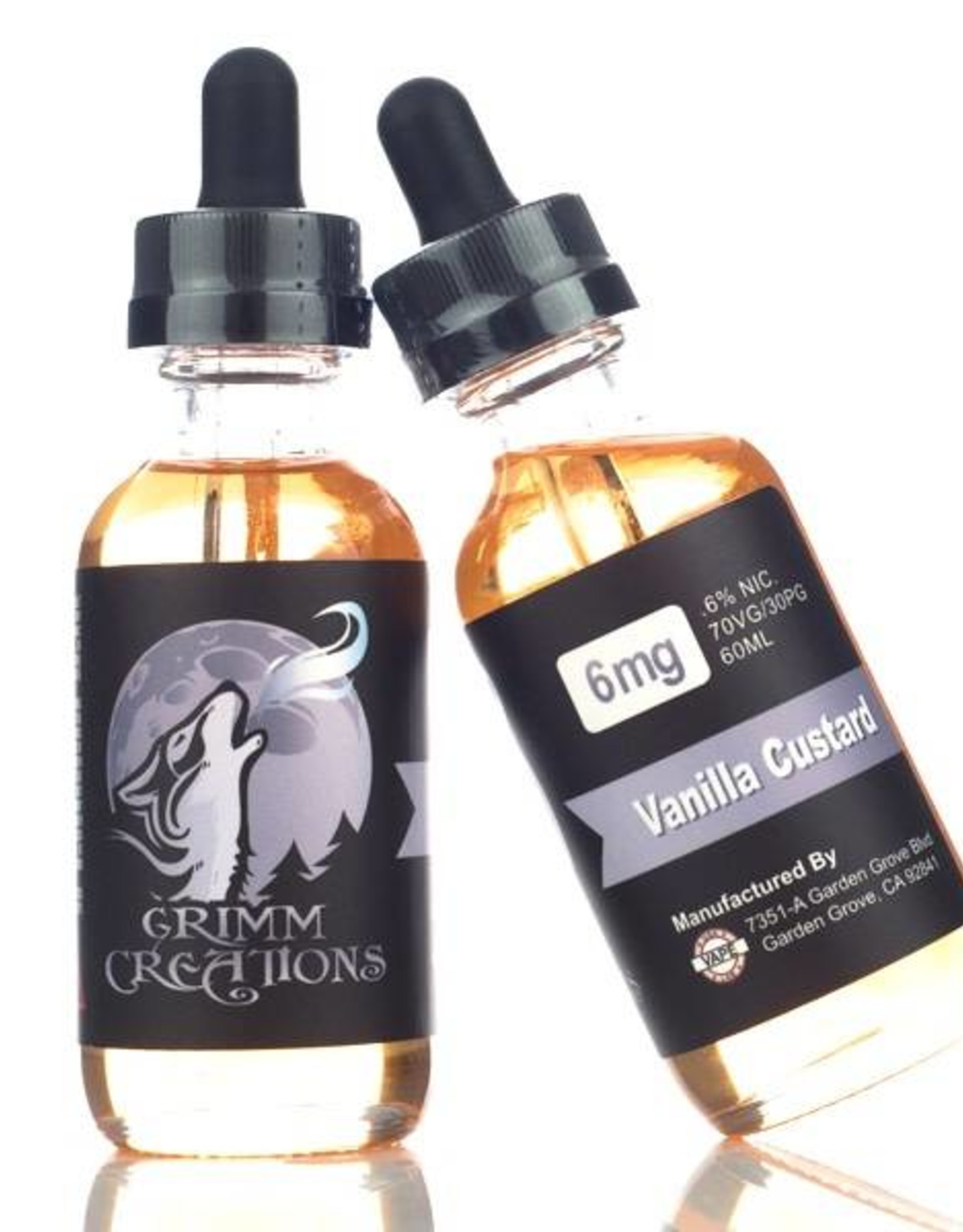 GRIMM CREATIONS VANILLA CUSTARD BY GRIMM CREATIONS(60ml)
