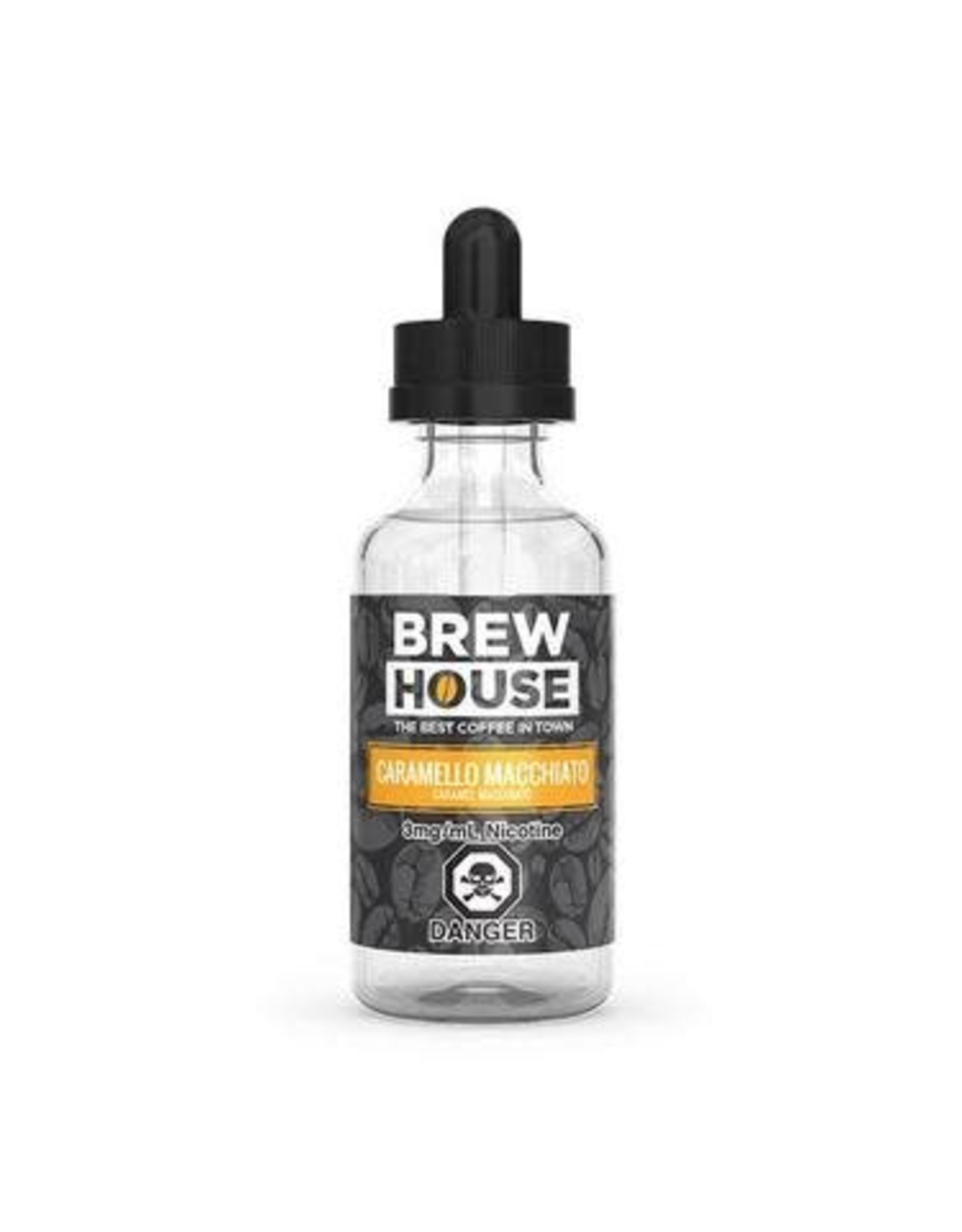 BREW HOUSE CARAMELLO MACCHIATO BY BREW HOUSE(60ml)
