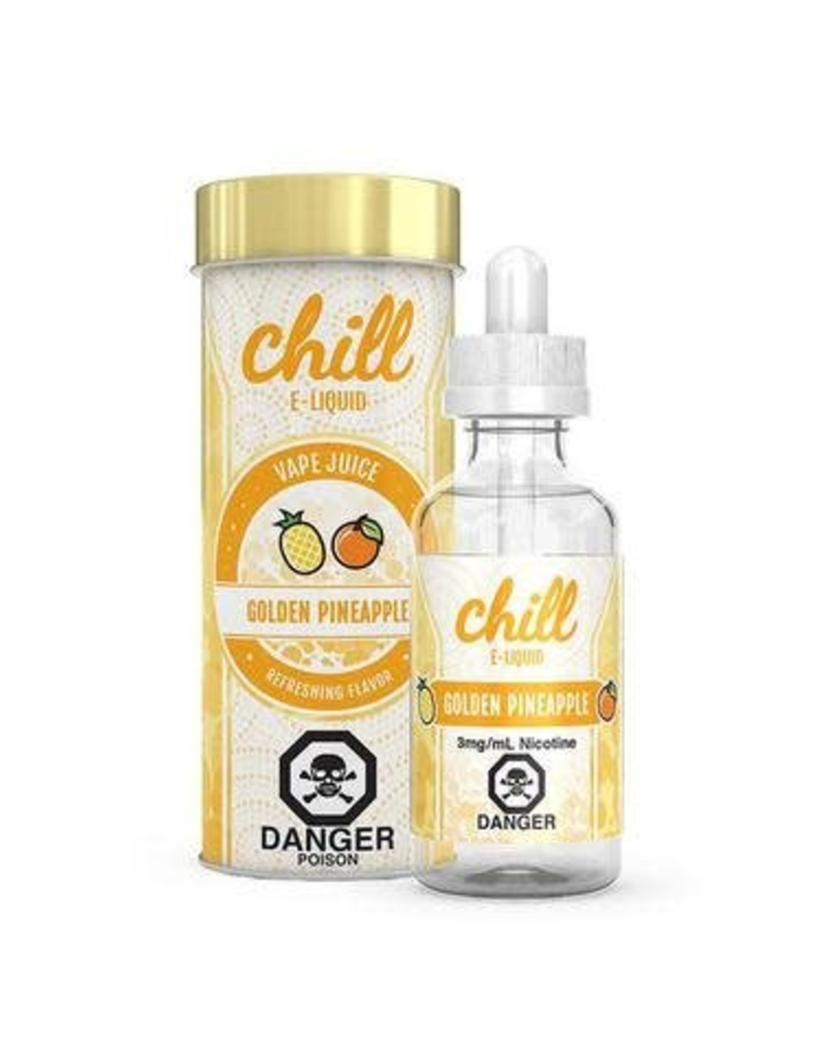 CHILL GOLDEN PINEAPPLE BY CHILL E-LIQUIDS(60ml)
