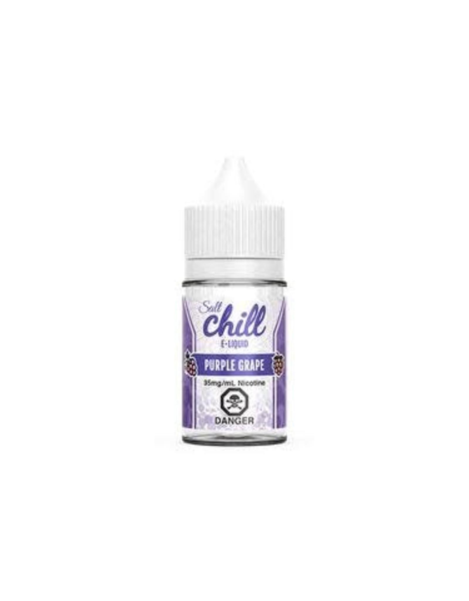 CHILL SALT PURPLE GRAPE (SALT) BY CHILL E-LIQUIDS(30ml)