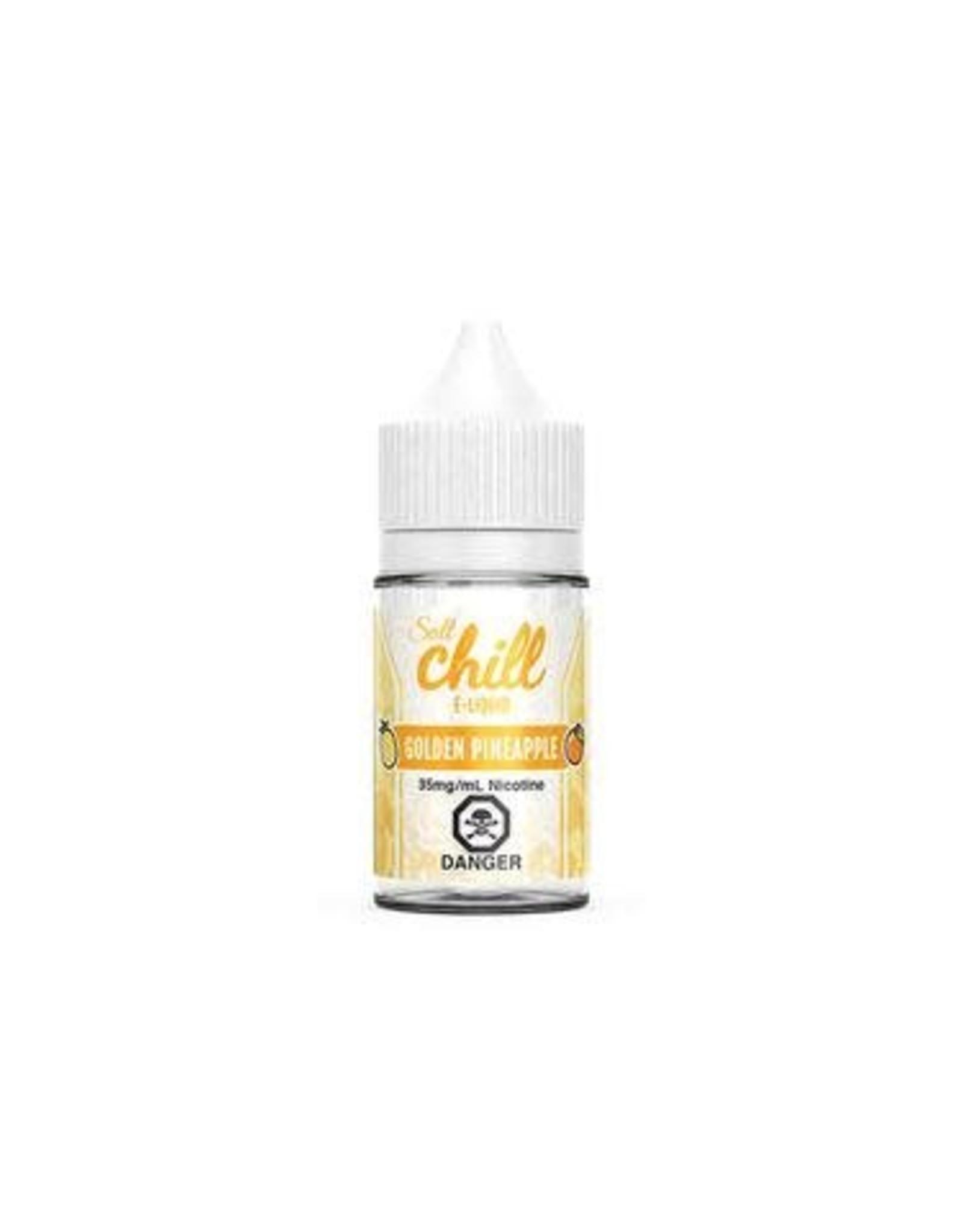CHILL SALT GOLDEN PINEAPPLE (SALT) BY CHILL E-LIQUIDS(30ml)