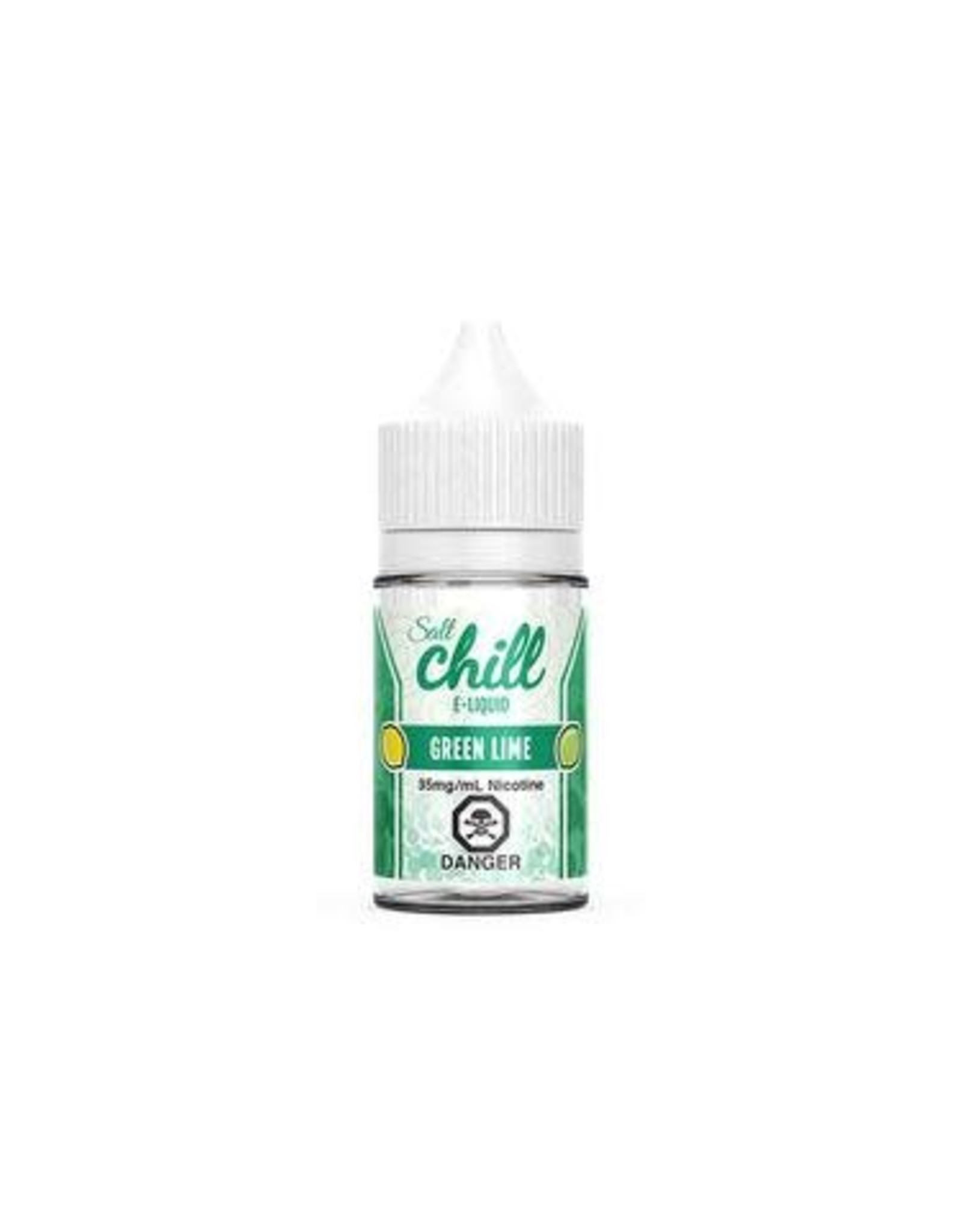 CHILL SALT GREEN LIME (SALT) BY CHILL E-LIQUIDS(30ml)