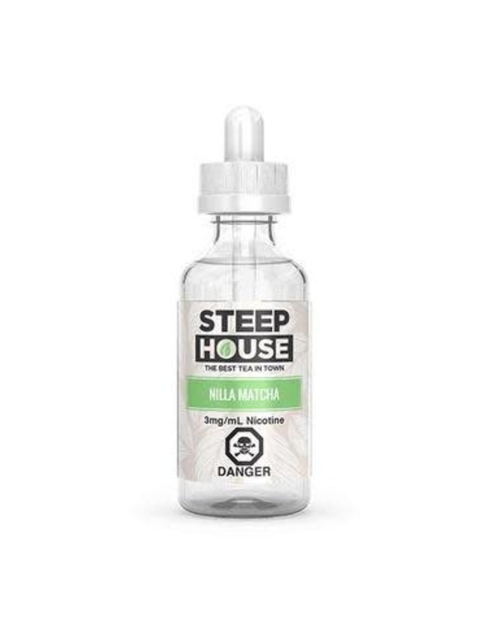 STEEP HOUSE NILLA MATCHA BY STEEP HOUSE(60ml)