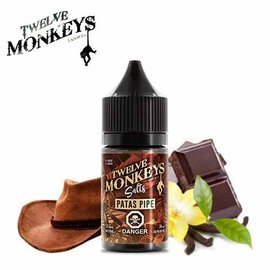 Twelve Monkeys-Salt Twelve Monkeys-Patas Pipe Salt(30ml)