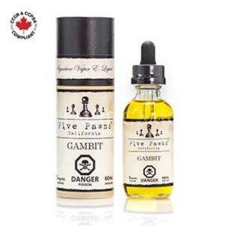 Five Pawns Five Pawns Signature Liquids - Gambit (60mL)
