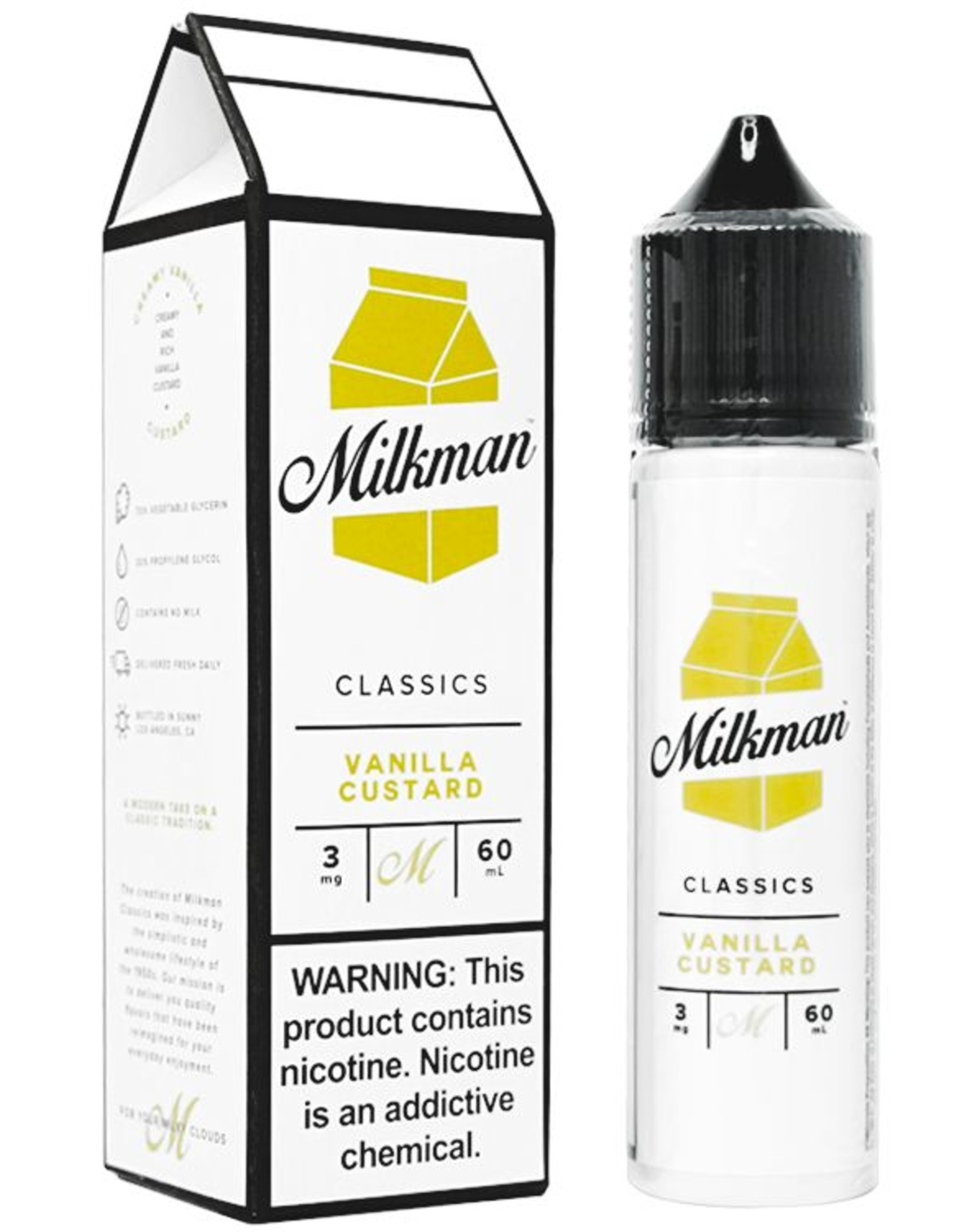 The Milkman The Milkman - Vanilla Whip (Vanilla Custard) (60mL)