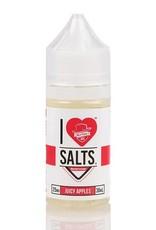 """Mad Hatter Juice - I Love Salts """"Juicy Apples"""" (30mL)"""