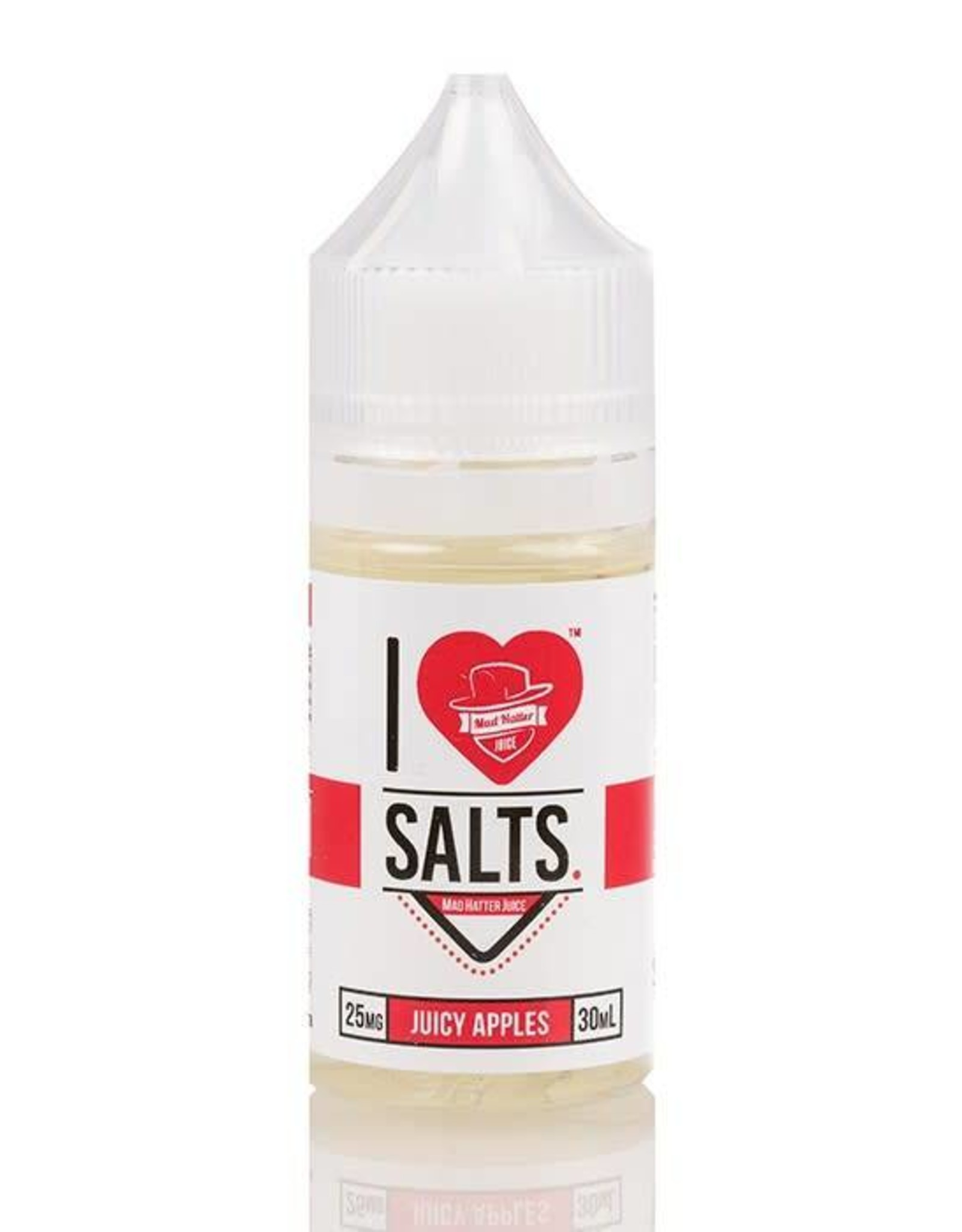 "Mad Hatter Mad Hatter Juice - I Love Salts ""Juicy Apples"" (30mL)"