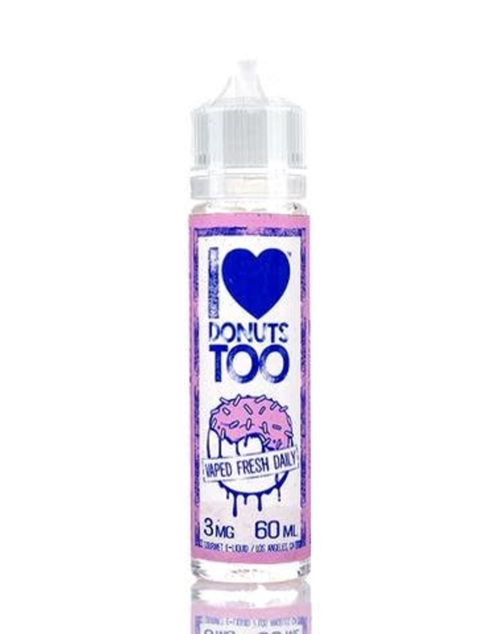 """Mad Hatter Juice - I Love Donuts """"Too"""" (60mL)"""