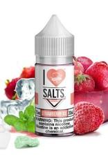 "Mad Hatter Juice - I Love Salts ""Strawberry Ice"" (60mL)"