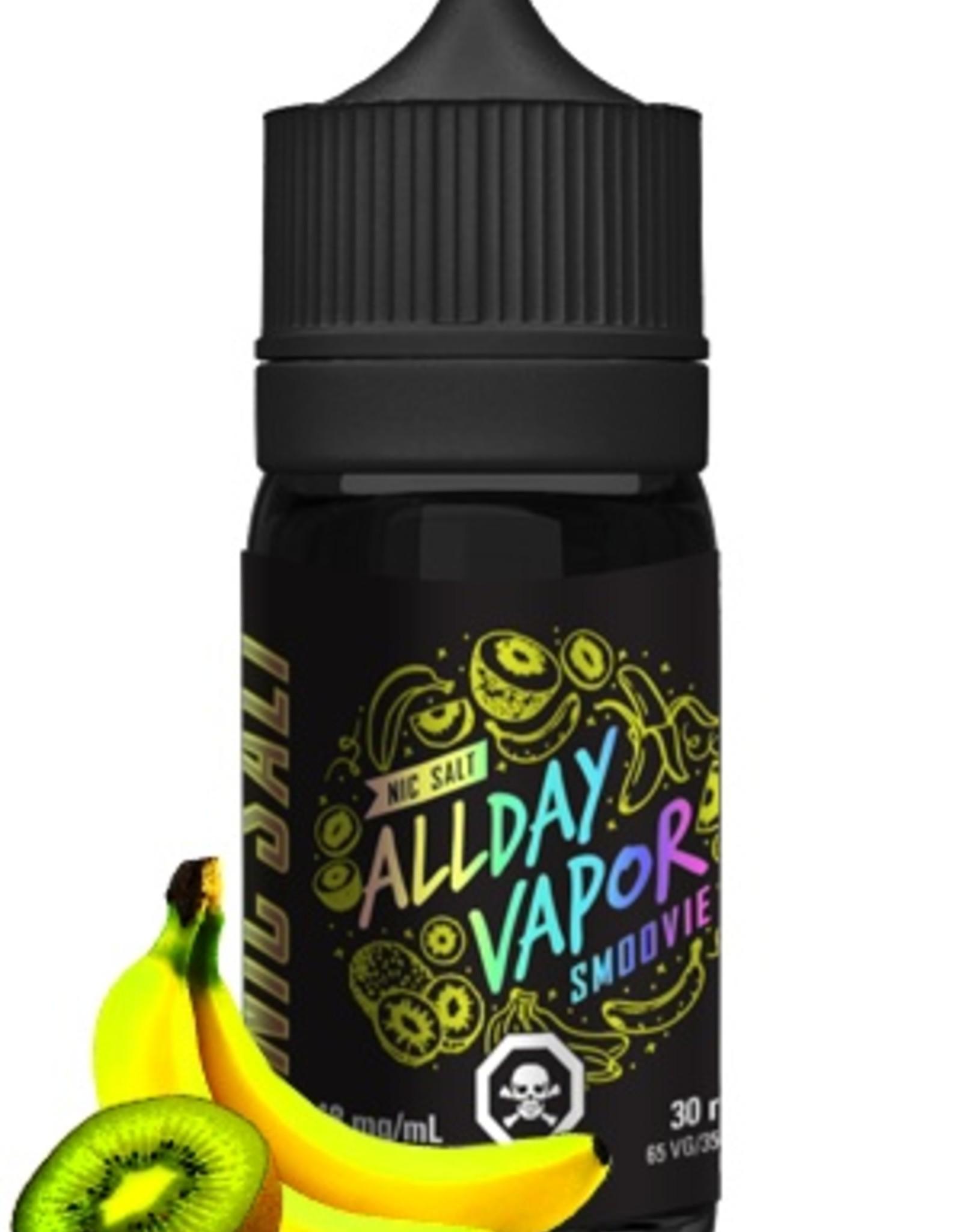Nic Salt ALLDAY VAPOR Smoovie (30mL)