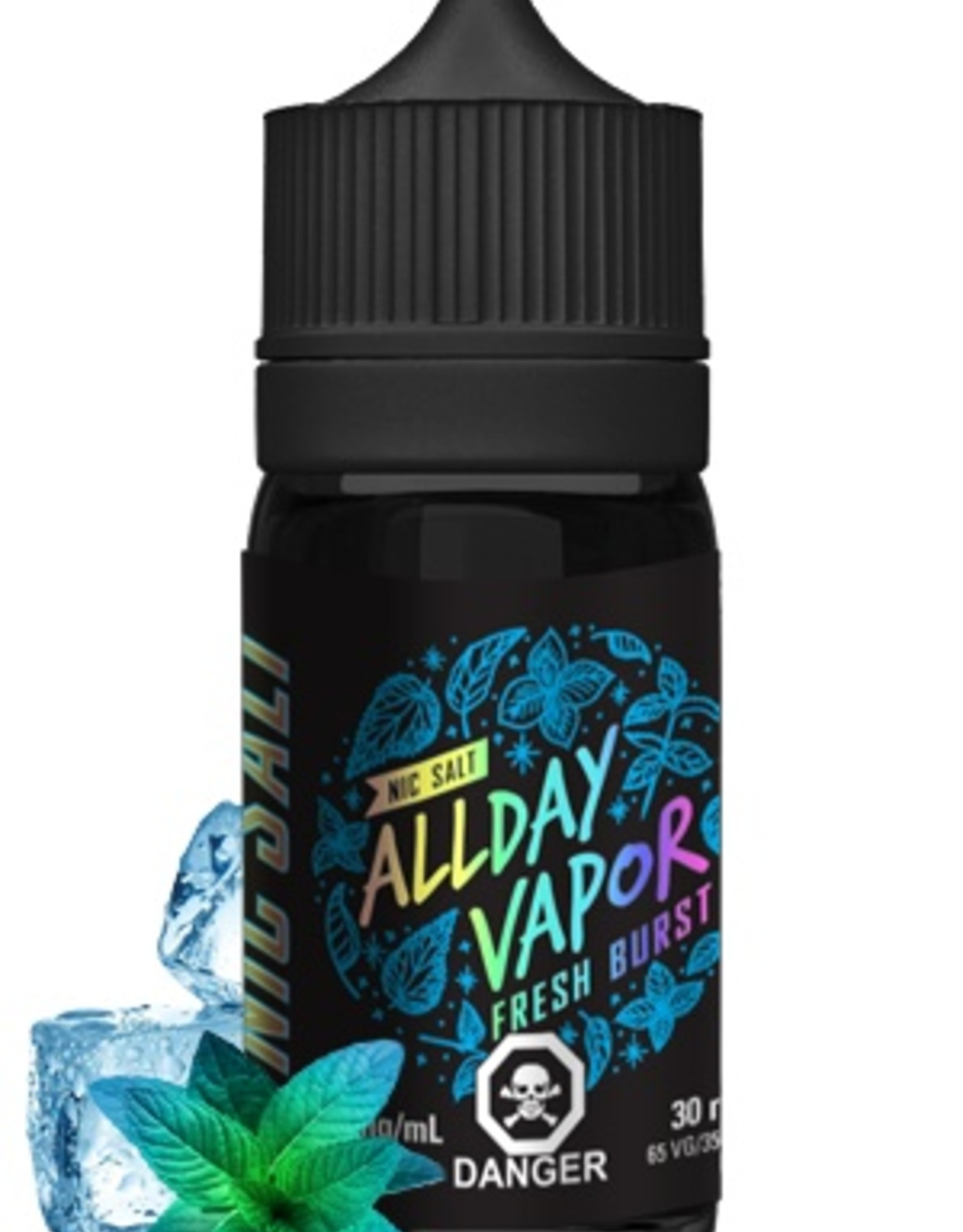 Nic Salt ALLDAY VAPOR Fresh Burst (30mL)