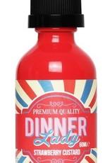 Dinner Lady - Strawberry Custard (60mL)