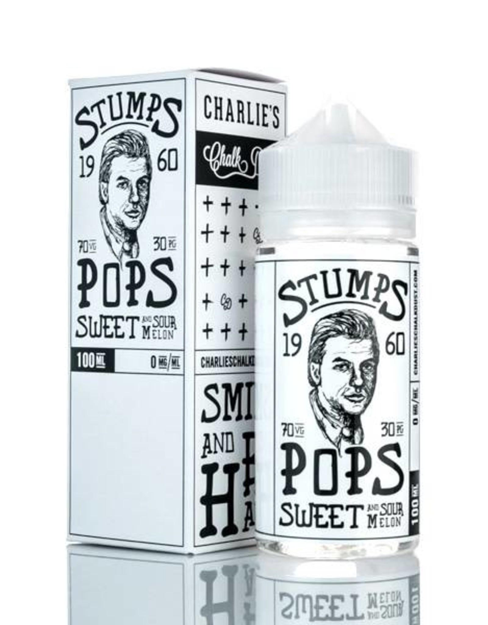 Charlie's Chalk Dust Charlie's Chalk Dust - Stumps Pops (100mL)