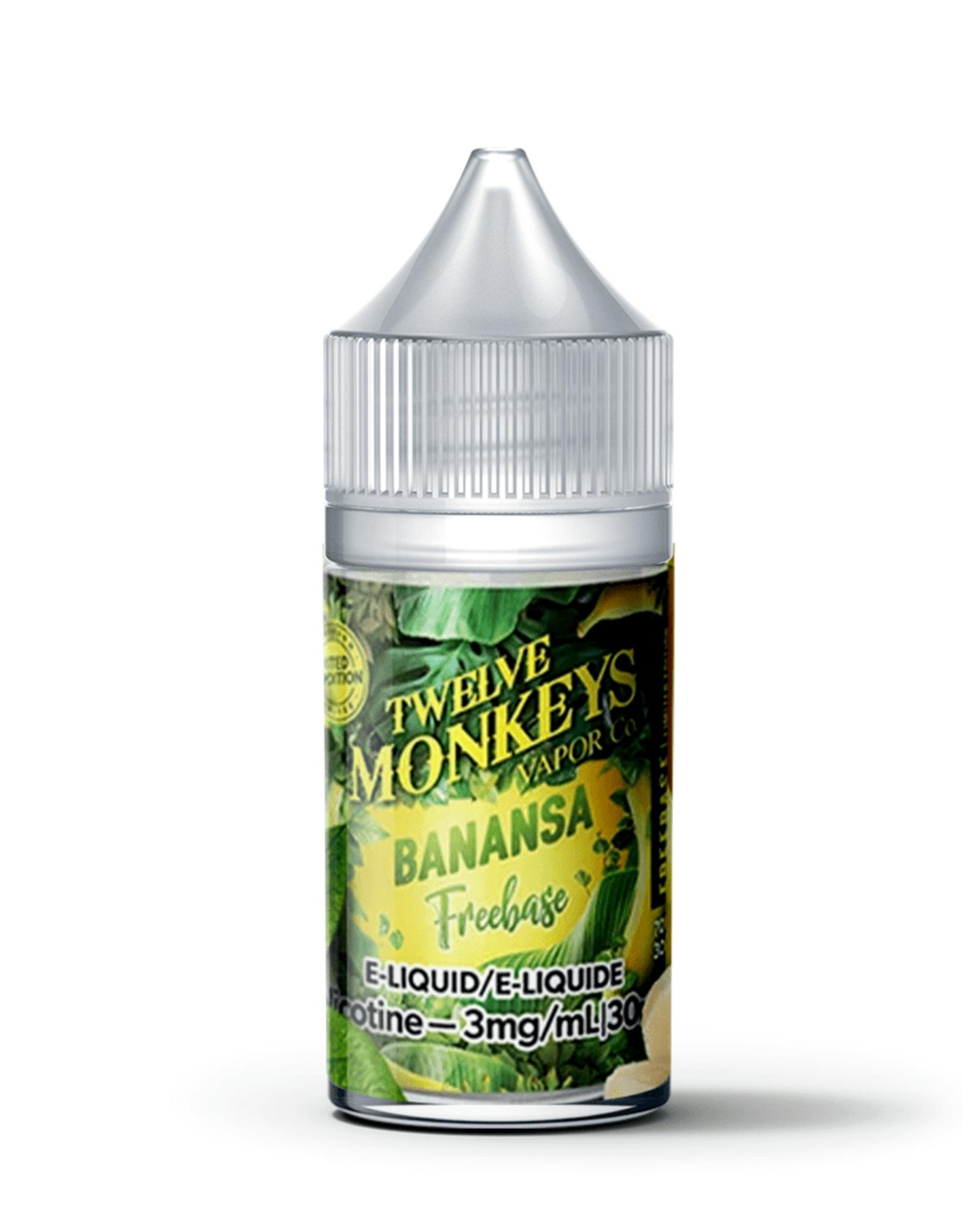 Twelve Monkeys Salt  Banansa 20mg