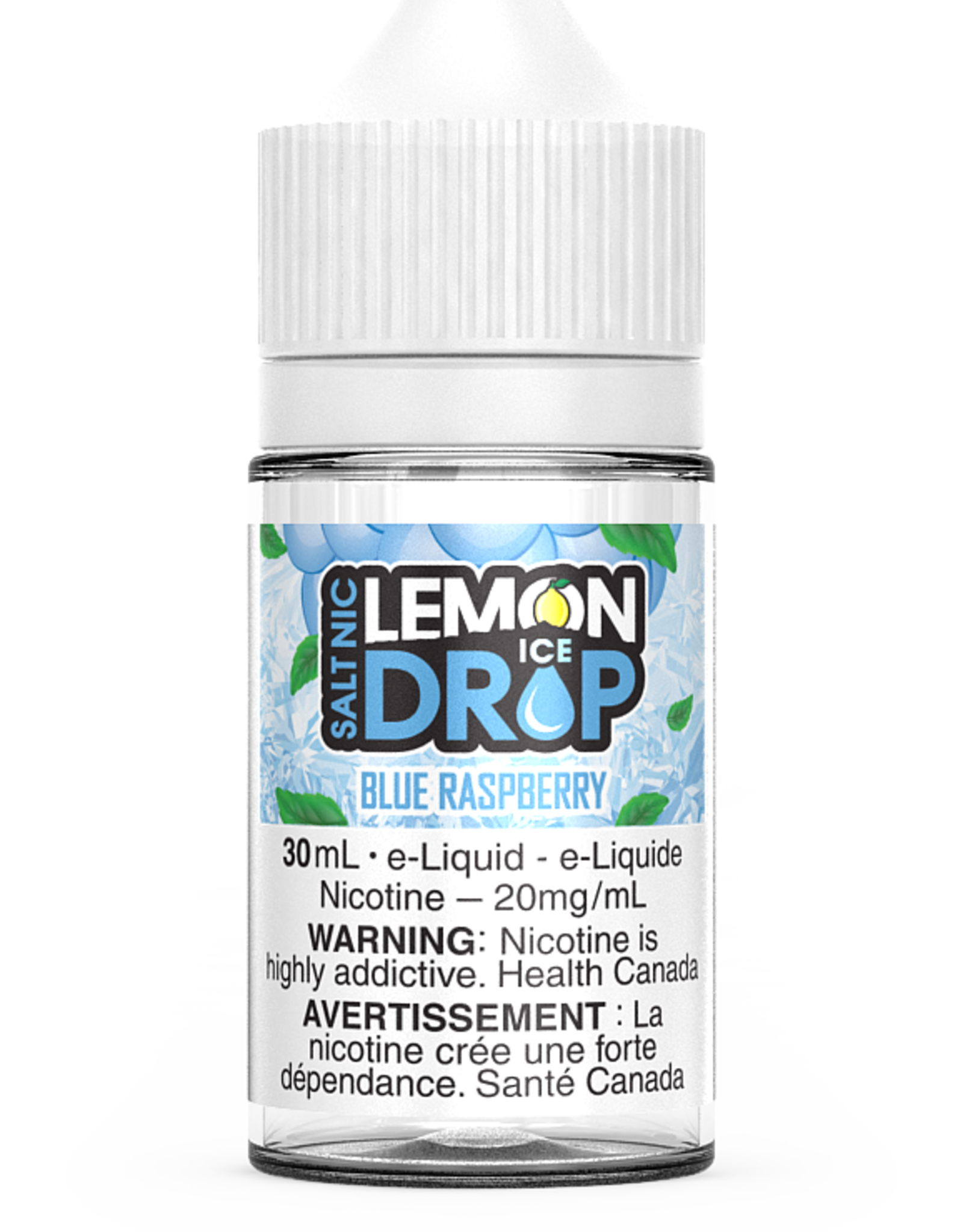 lLEMON DROP Blue Raspberry Ice Salt By Lemon Drop 20mg