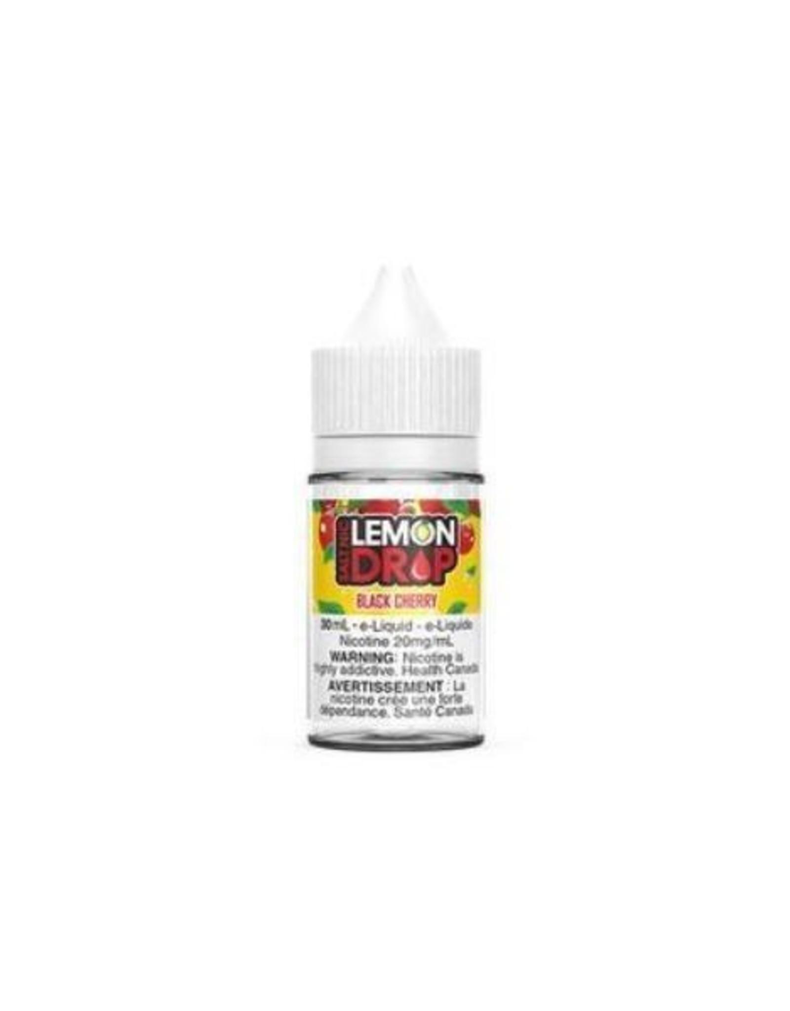 lLEMON DROP Black Cherry Salt By Lemon Drop 20mg