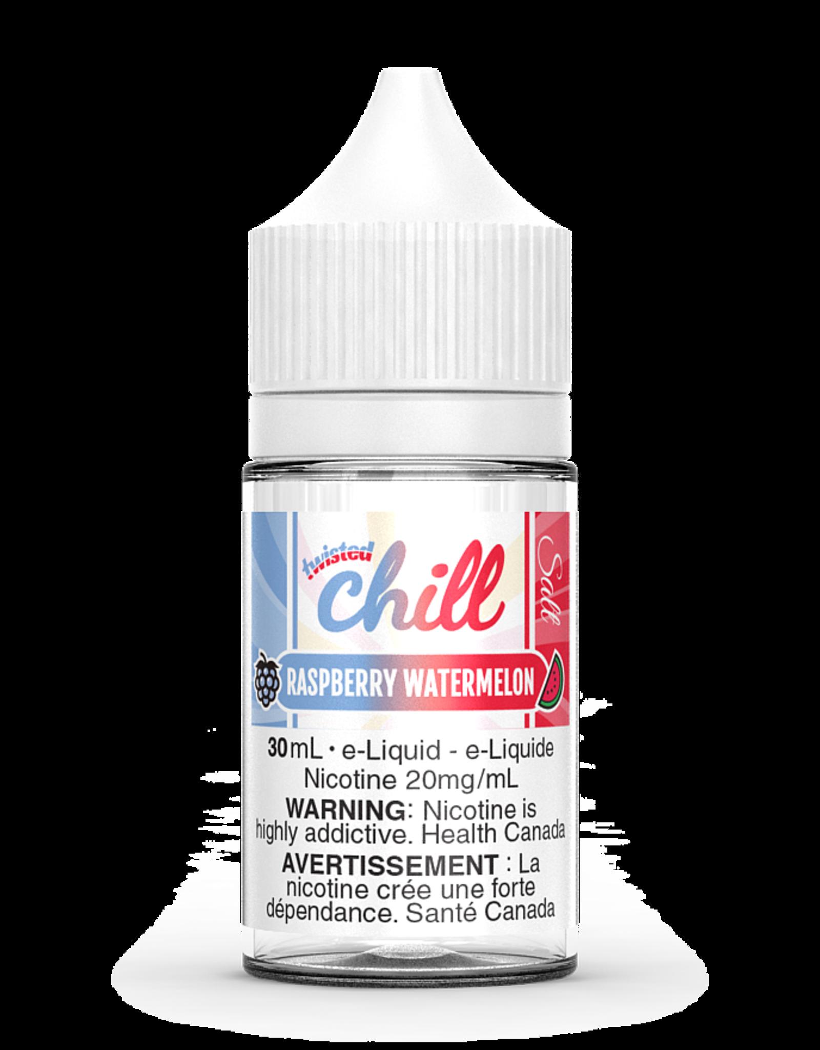 CHILL SALT RASPBERRY WATERMELON SALT BY CHILL TWISTED (SALT) BY CHILL E-LIQUIDS(30ml)