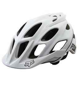 fox head FOX Flux Helmet: Matte White LG/XL