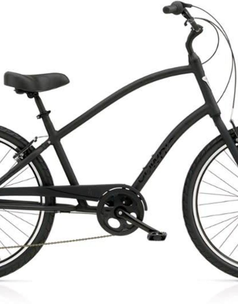 Electra Bicycle Company ELECTRA Townie Original 7D, Men's Tall, Black