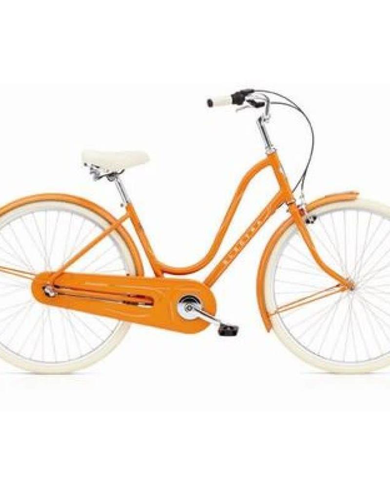 Electra Bicycle Company 17 ELECTRA Amsterdam Original 3i, Orange, Ladies