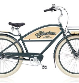Electra Bicycle Company ELECTRA Courier 3i, Men's, Chicago Grey
