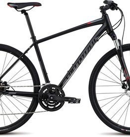 Specialized 16 SPECIALIZED CROSSTRAIL SPORT DISC Black/Charcoal/Red SM