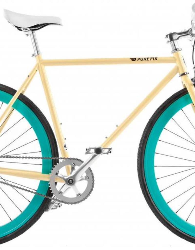 Pure Fix Cycles 16 PUREFIX X-RAY, 50CM, Cream/Green