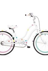 "Electra Bicycle Company ELECTRA Heartchya, 20"" Girl's, White"