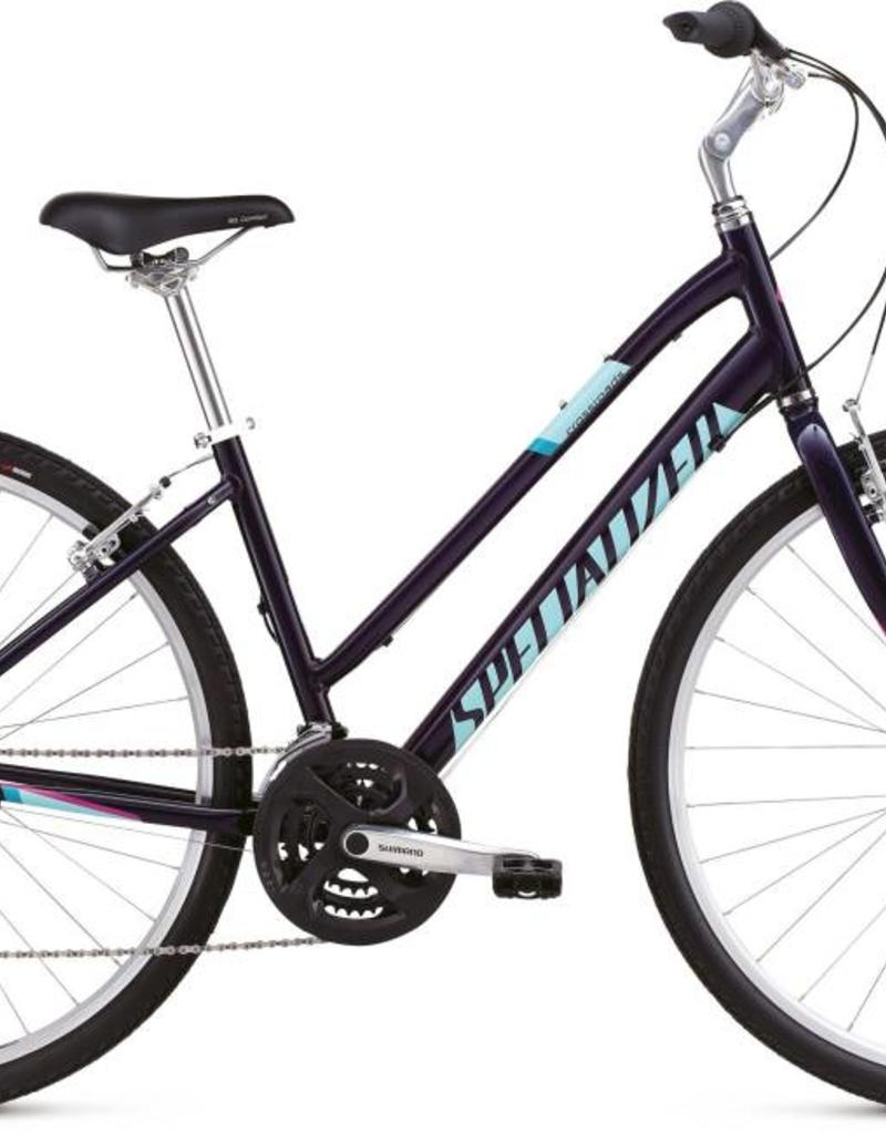 18 SPECIALIZED CROSSROADS ST - Indigo/Turquoise/Pink SM