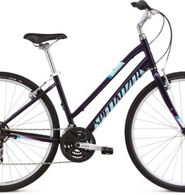 18 SPECIALIZED CROSSROADS ST - Indigo/Turquoise/Pink MD