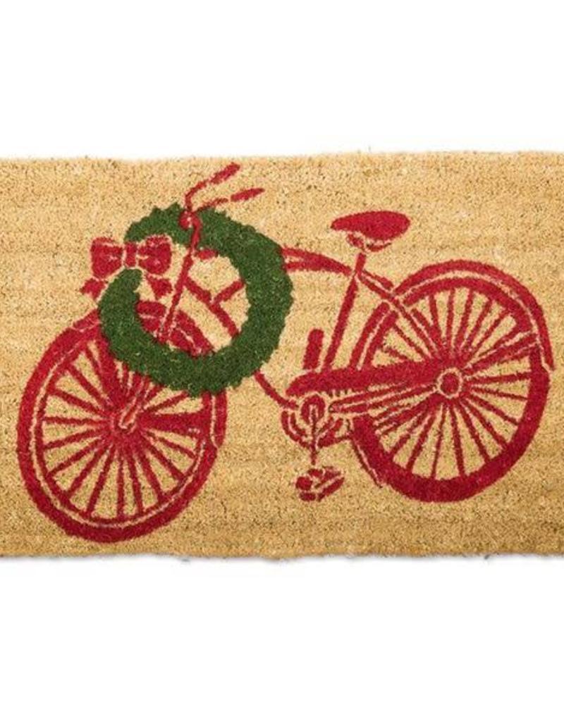 Christmas Bike Door Mat